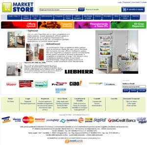 Marketstore.it vendita elettrodomestici on line