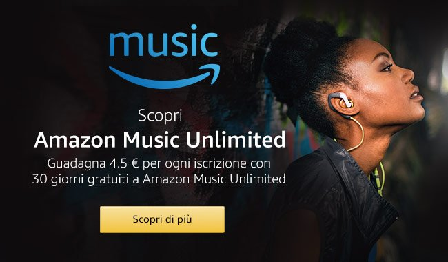 Cos'è Amazon Music Unlimited